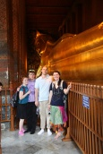 Seeing the sights in Bangkok