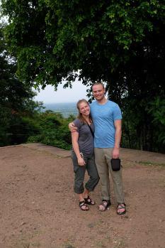 Visiting a Khmer-era temple
