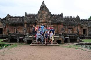 Visiting a Khmer-era temple