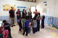 Teaching the kids English