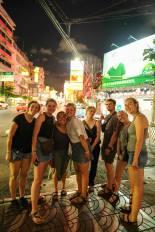Visiting Chinatown in Bangkok